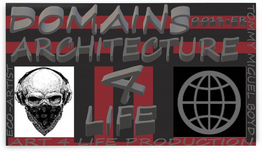 DOMAINS ARCHITECTURE   ECO ARTIST TOMMY MIGUEL BOYD by KING THOMAS MIGUEL BOYD