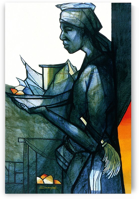 La marchande by Marie-Denise Douyon