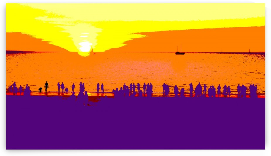 Mindil Beach Sunset - Australia by Lexa Harpell