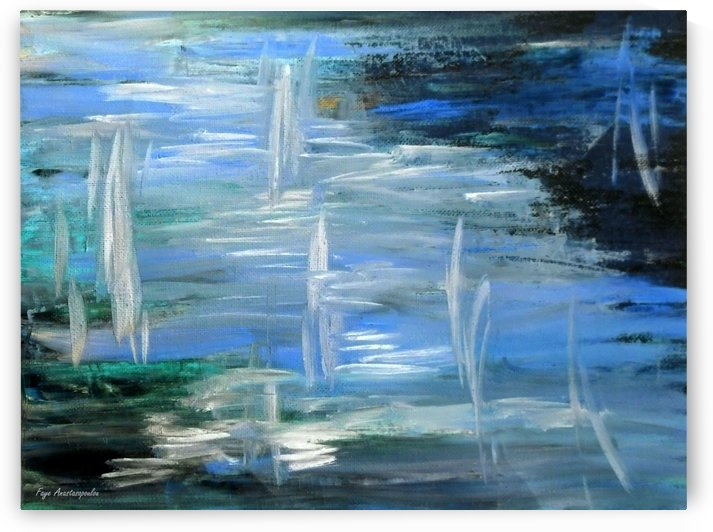 Abstract Sailing by Faye Anastasopoulou