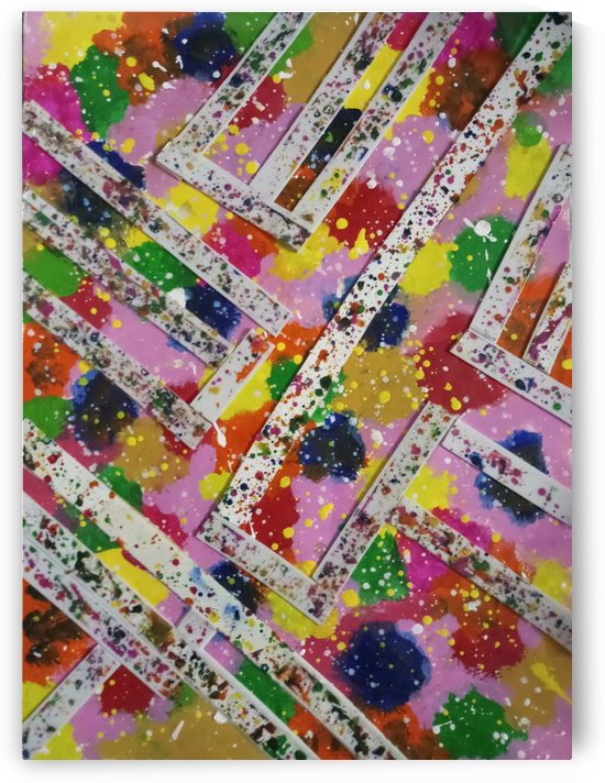 Abstract colour pattern. by Nikita