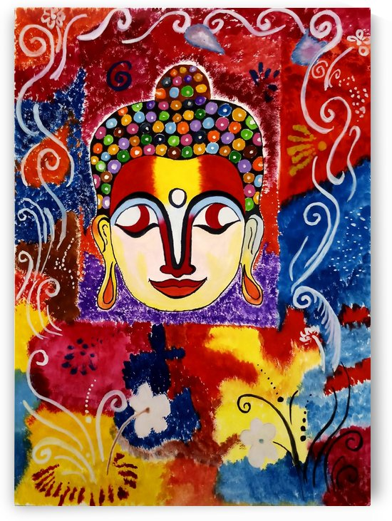 Artistic buddha. by Nikita