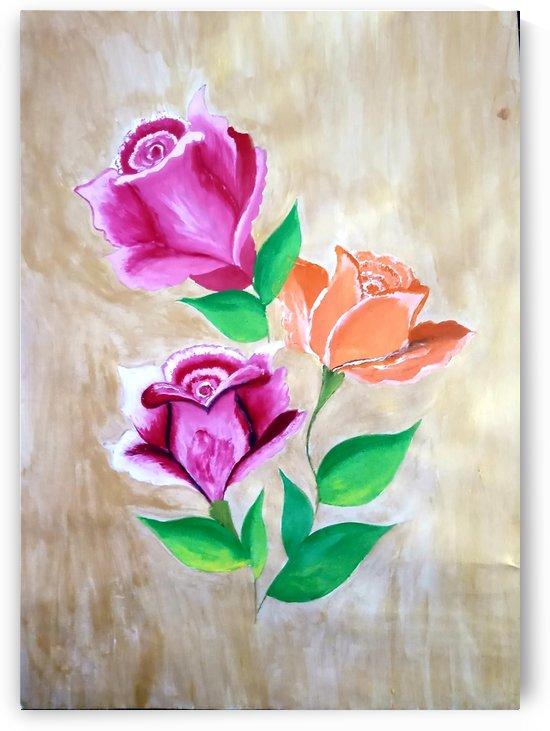 Rose flowers by Nikita