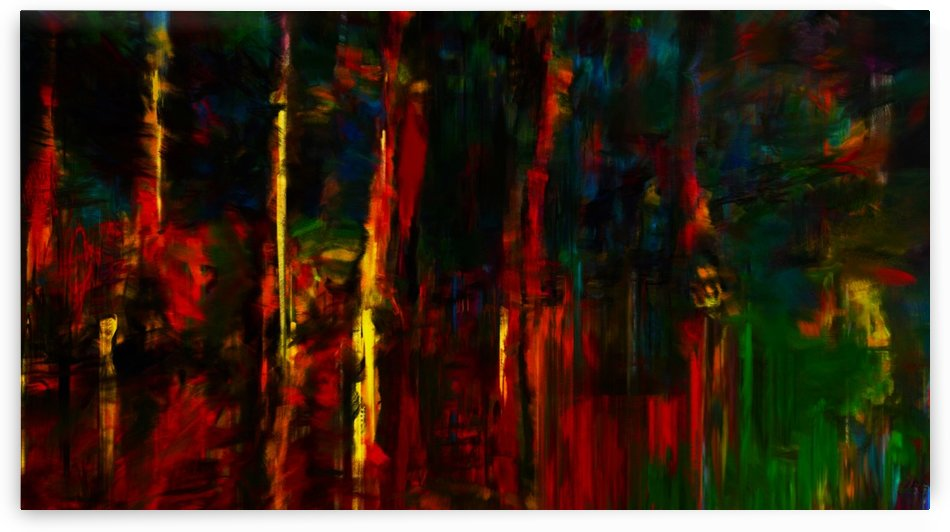 Colorful Swamp by George Bloise