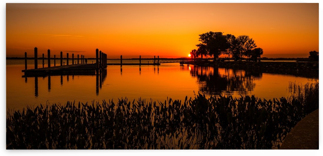 RED SUNSET by George Bloise