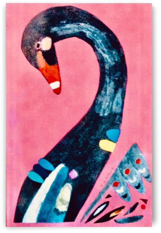 Black Swan  by Zaramar Paintings