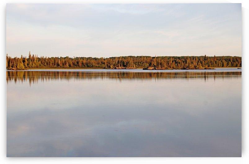Bonar Lake Morning Light by Deb Oppermann