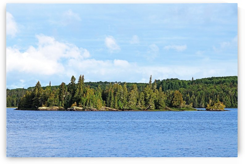 Bonar Lake Islands II by Deb Oppermann