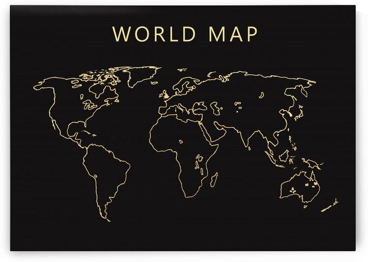 World Map 1 by Radiy Bohem
