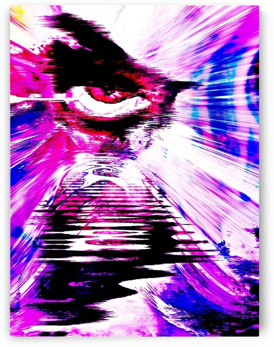 Modern Eye Abstract Colorful by Rabid Solutions