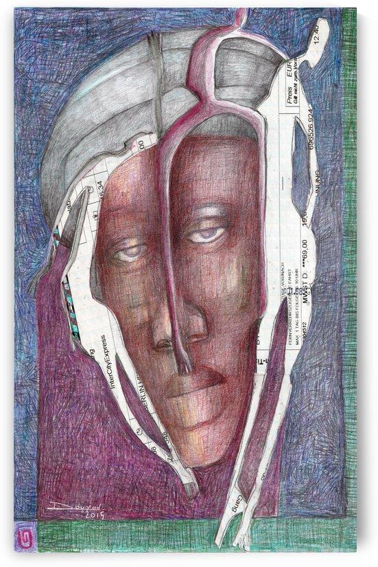 homme au turban by Marie-Denise Douyon