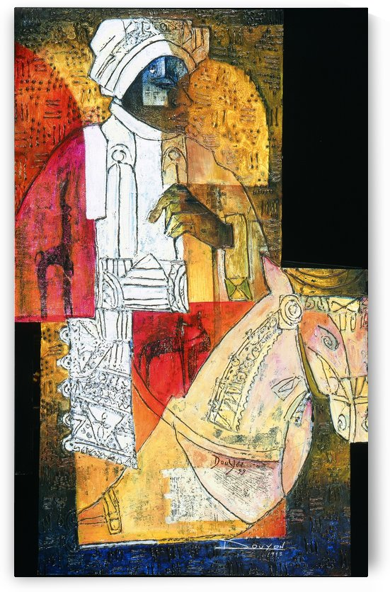 cavalier du sud by Marie-Denise Douyon