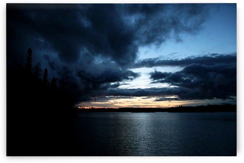 Ominous Dark Clouds by Deb Oppermann