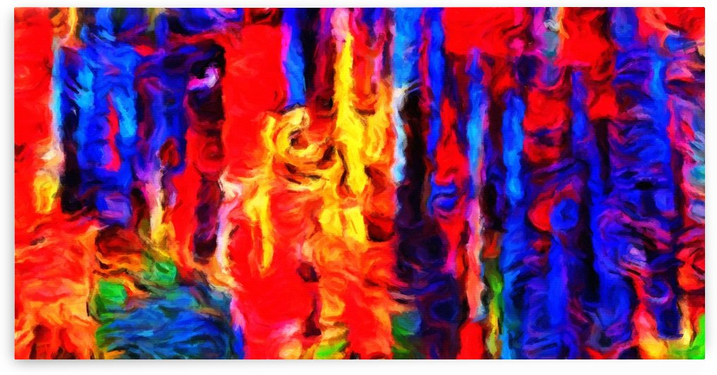 COLORFUL Brush Strokes by George Bloise