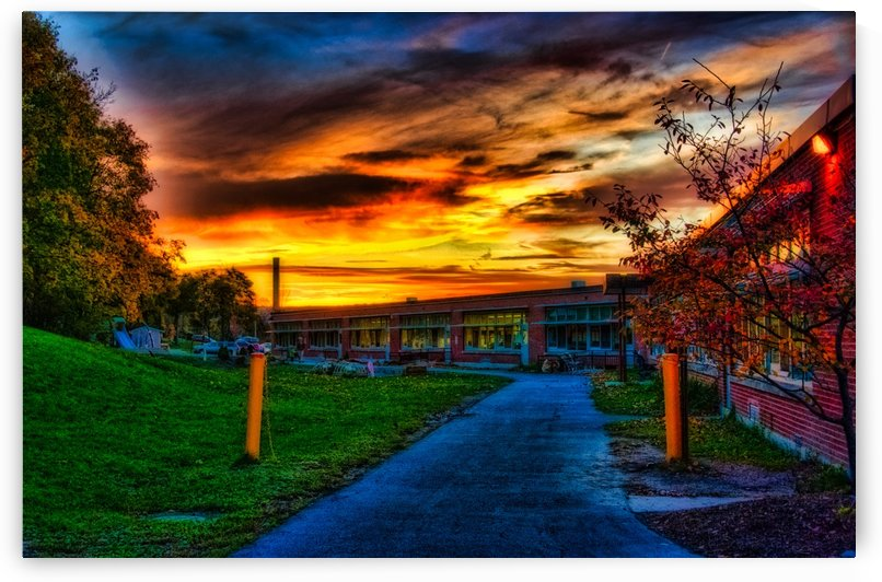 School Sunset by Joseph Scaglione III
