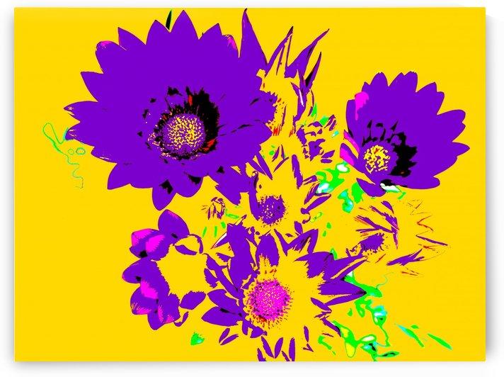 Rainbow Flower - Yellow by Lexa Harpell