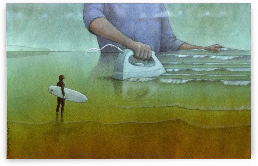 Surfing by Pawel Kuczynski
