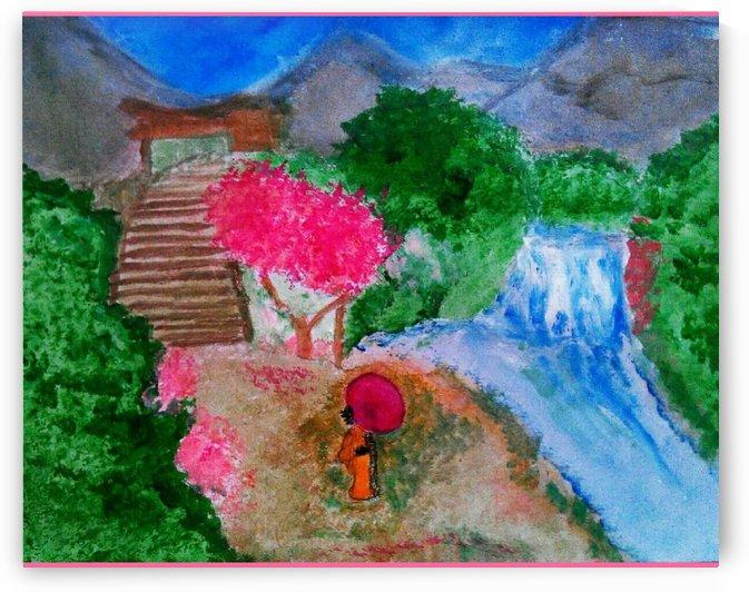 Japanese Garden  by libelle