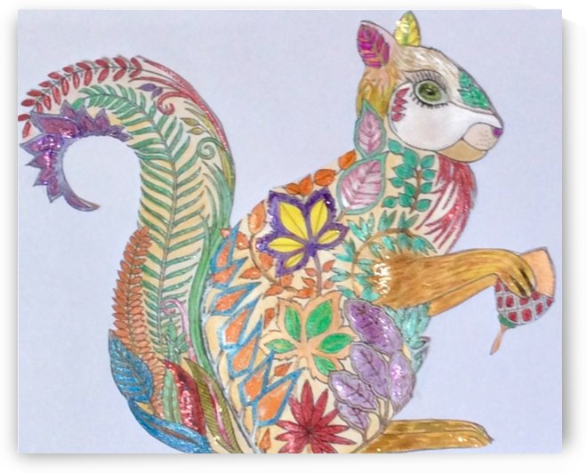 Squirrel  by Zaramar Paintings