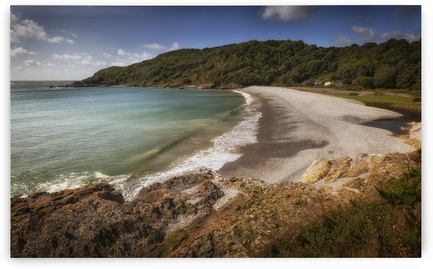 Pwll Du Bay on the Gower peninsula by Leighton Collins