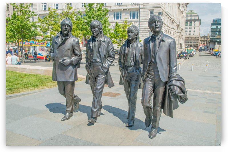 The Beatles Statue by Bunnoffee Photography