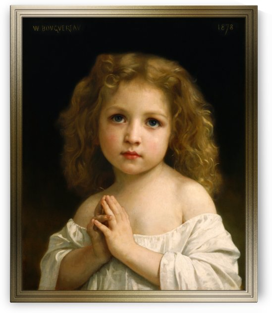 Little Girl by William-Adolphe Bouguereau by xzendor7