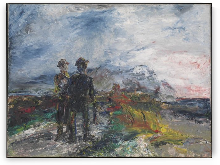 The Two Travellers by John Butler Yeats