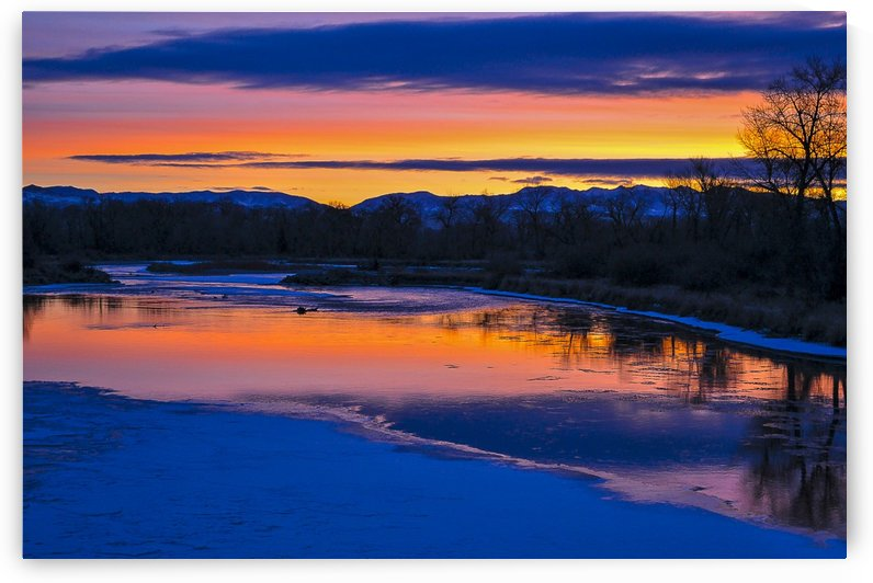 Dawn on the Jefferson by Scene Again Images: Photography by Cliff Davis