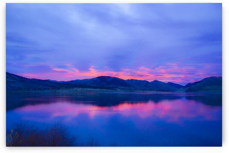 Upper Holter Lake by Scene Again Images: Photography by Cliff Davis