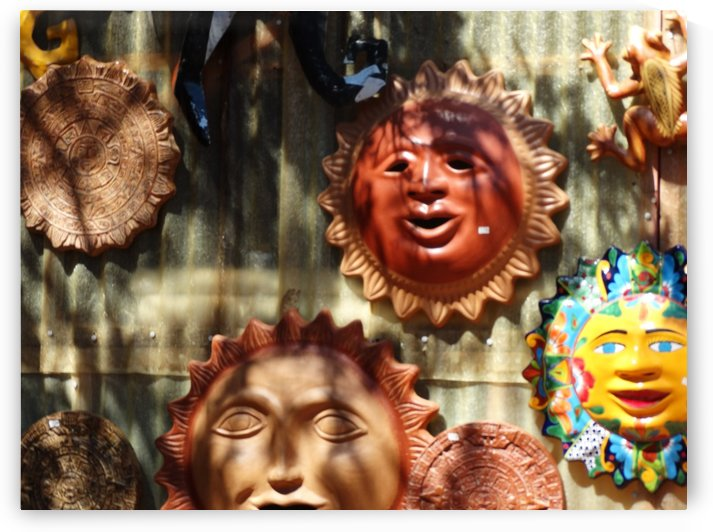 Mexican Sun Faces by Emerson