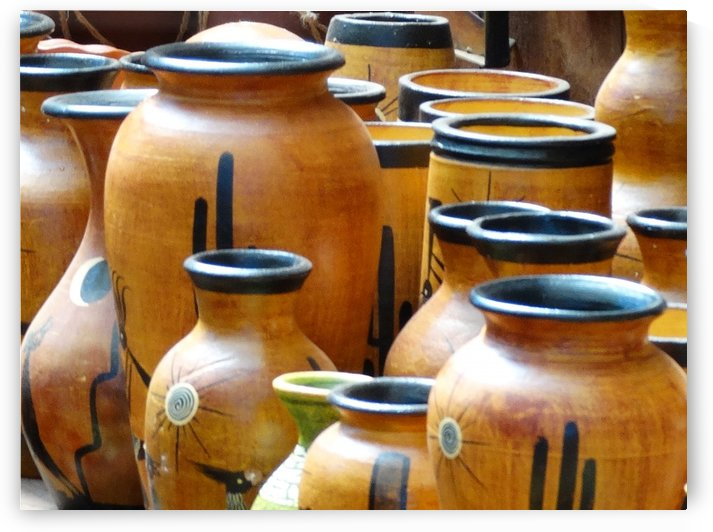 Colorful Southwest Pottery by Emerson