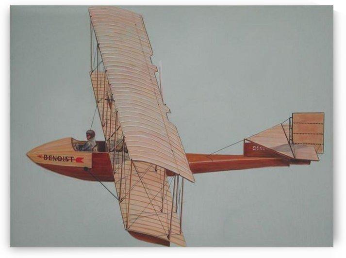 Benoist Seaplane by Teresa Trotter