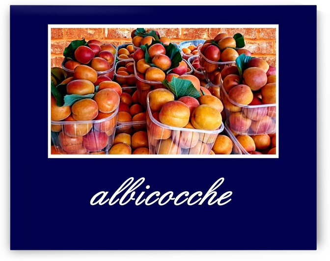 Poster Albicocche by Shadow and Form