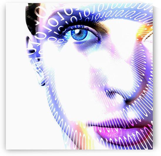 Internet Girl by Bruce Rolff