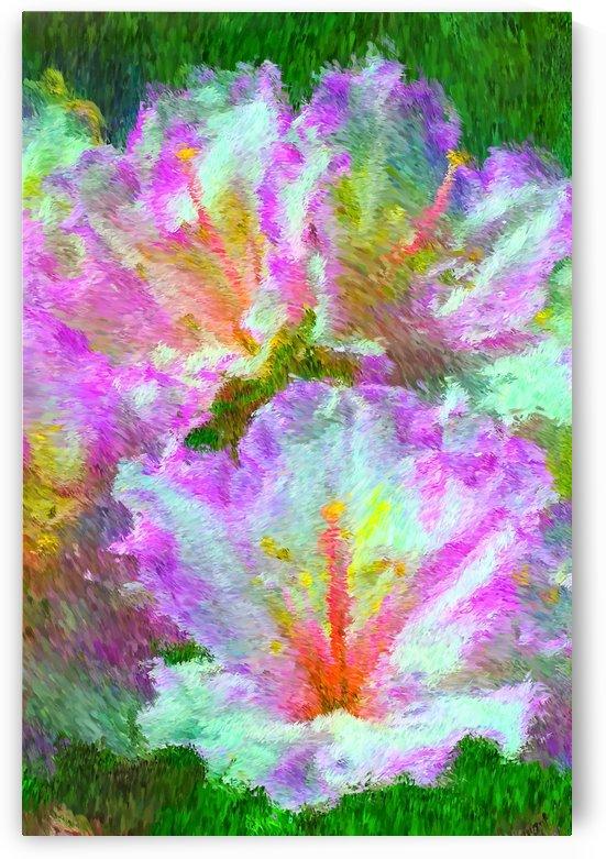 Azaleas Sun Dance by Joy Watson