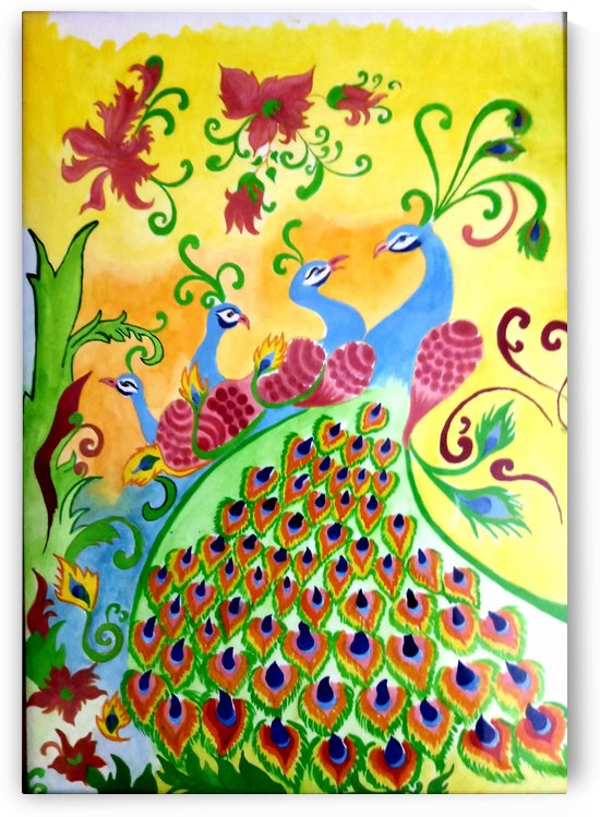 peacock designs by Nikita