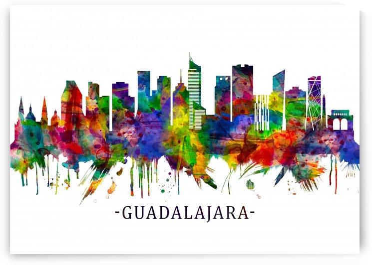 Guadalajara Mexico Skyline by Towseef Dar