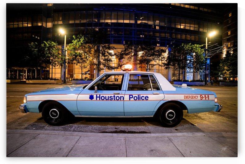 """1986 """"Love Ya Blue"""" Police Car5 by Nancy Calvert"""
