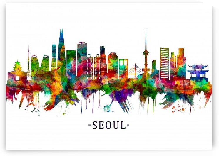 Seoul South Korea Skyline by Towseef Dar