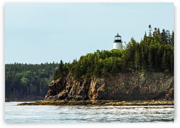 Owls Head Lighthouse 2 by Dave Therrien