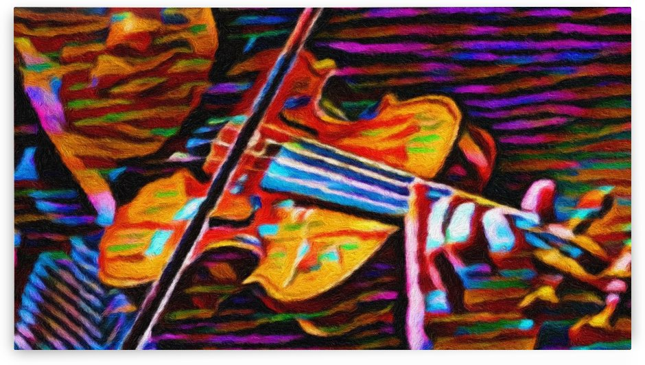 Color Violin by George Bloise