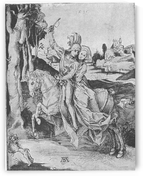 Spazierritt by Albrecht Durer