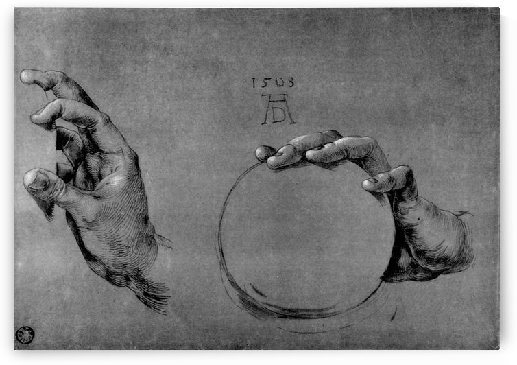 Hand of God the Father by Albrecht Durer