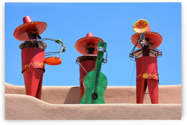 Mariachi Sculpture Photograph by Katherine Lindsey Photography