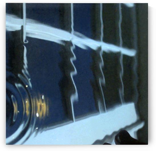 French Door Reflection 1 by Jaeda DeWalt