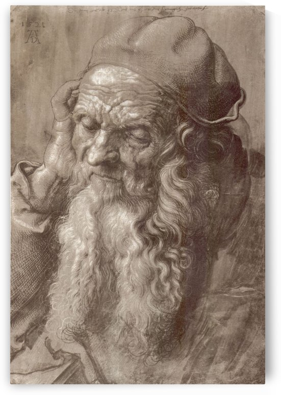Man aged 93 by Albrecht Durer