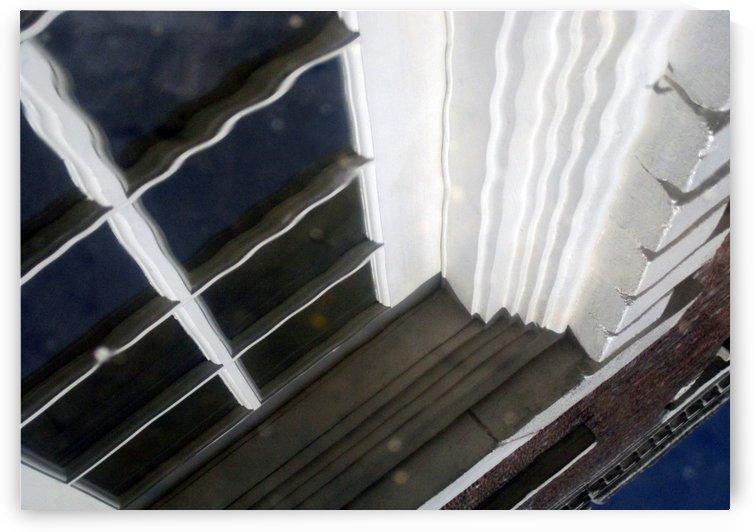 French Door Reflection 2 by Jaeda DeWalt