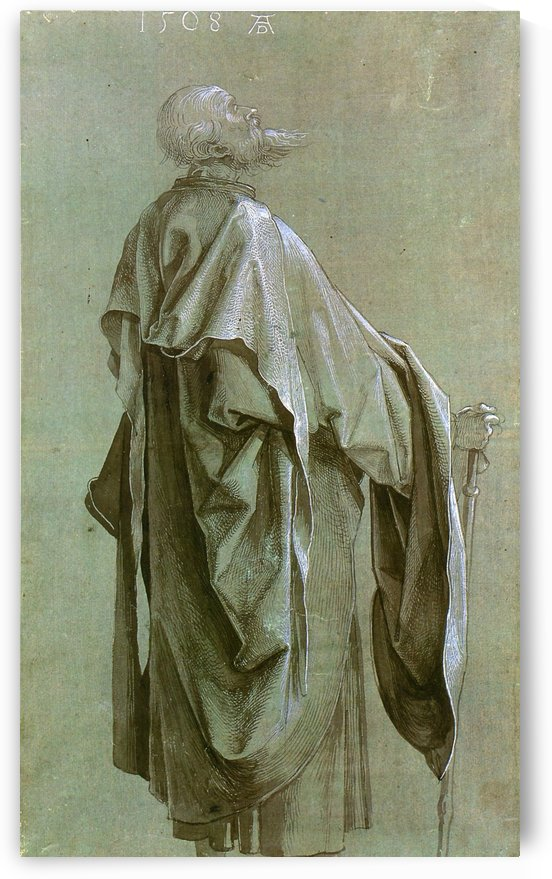 Standing Apostle by Albrecht Durer
