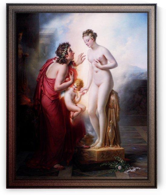 Pygmalion et Galatée by Anne-Louis Girodet de Roussy-Trioson by xzendor7