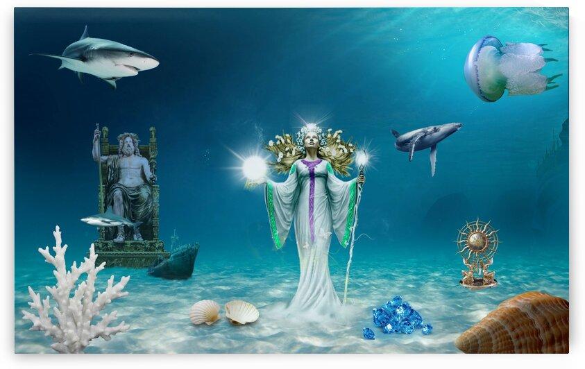 At the bottom of the sea. by Radiy Bohem